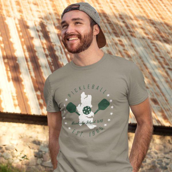 Bainbridge Island pickleball t-shirt - Picklesphere.com.
