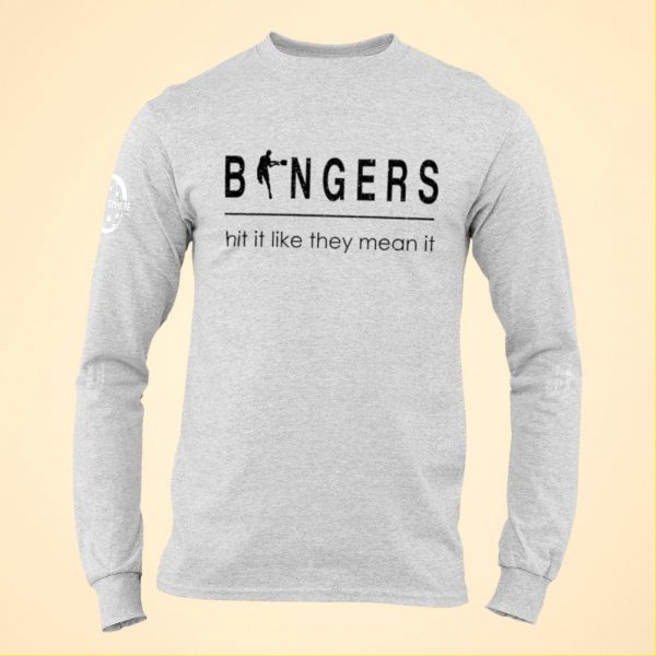 Bangers long sleeve pickleball t-shirt - Picklesphere.com.