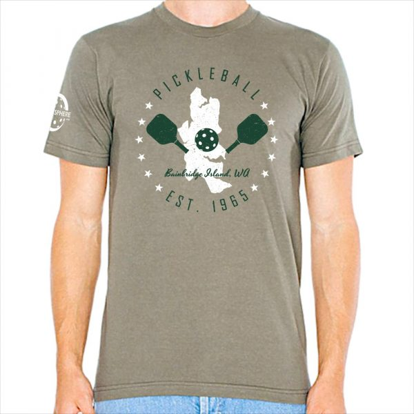Bainbridge pickleball t-shirt, lieutenant - Picklesphere.com.