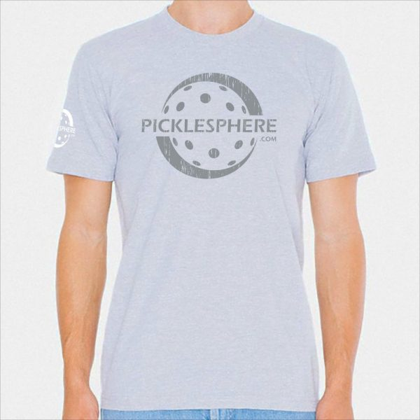 Picklesphere t-shirt, heather gray - Picklesphere.com.