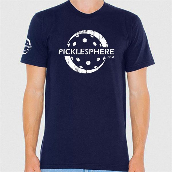 Picklesphere t-shirt, navy - Picklesphere.com.