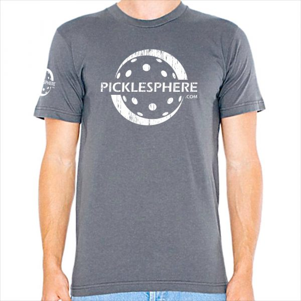 Picklesphere t-shirt, slate - Picklesphere.com.