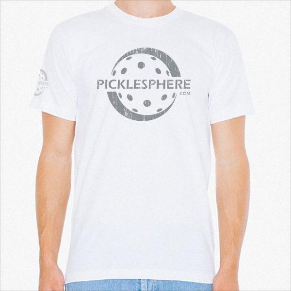 Picklesphere t-shirt, white - Picklesphere.com.