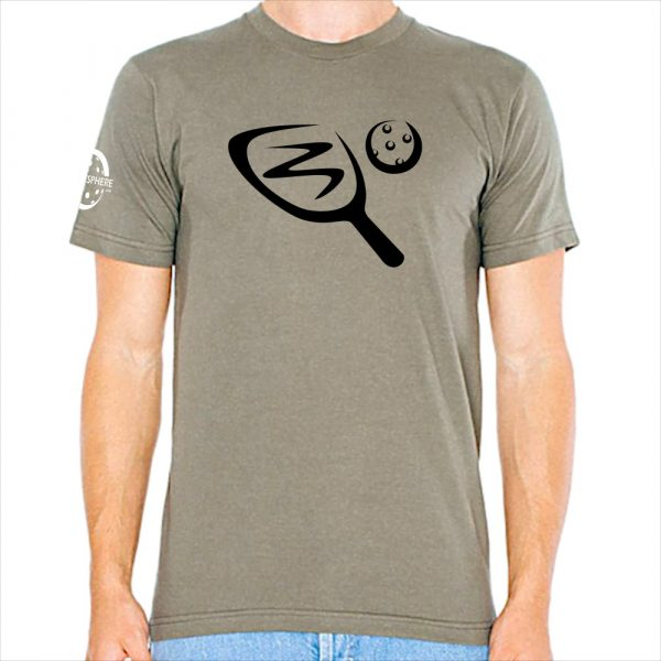 Paddle & ball pickleball t-shirt, lieutenant - Picklesphere.com.