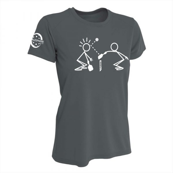 Stickmen performance shirt, slate - Picklesphere.com.
