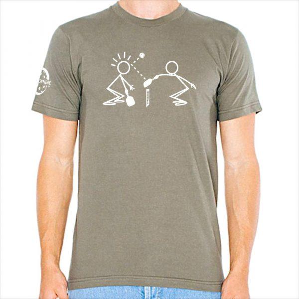 Stickmen t-shirt, lieutenant - Picklesphere.com.