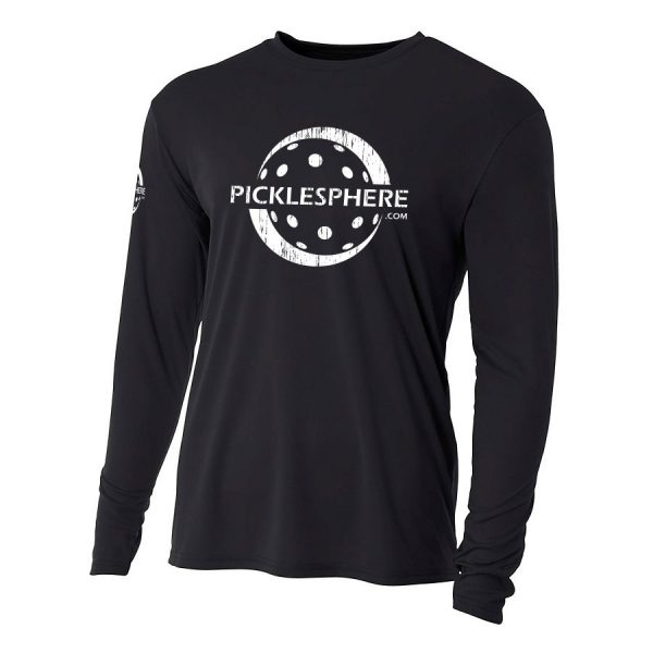Picklesphere long-sleeve performance shirt - Picklesphere.com.