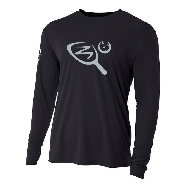 Paddle & ball long-sleeve performance shirt - Picklesphere.com.