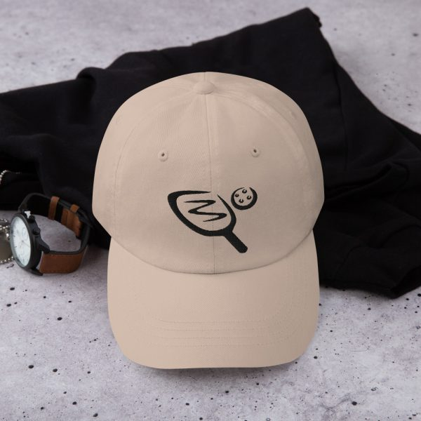 Pickleball cap - paddle and ball design - Picklesphere.com.