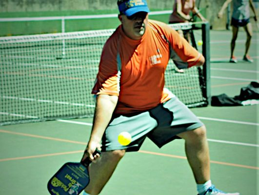Mike Hoxie of Pickleball Is Great - Picklesphere.com.