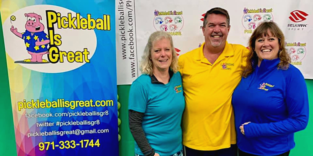 The Pickleball Is Great team - Picklesphere.com.