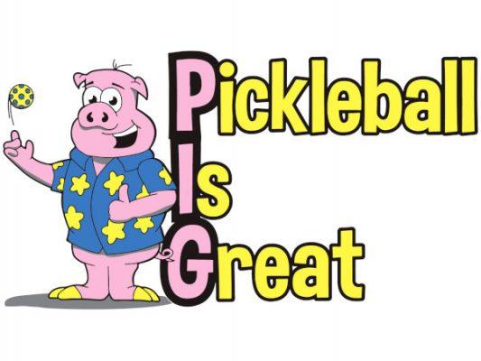 Pickleball Is Great logo - Picklesphere.com.