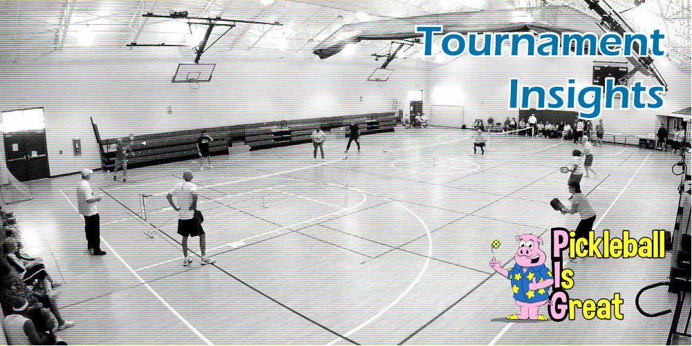 Tournament Insights by Pickleball Is Great banner - Picklesphere.com.